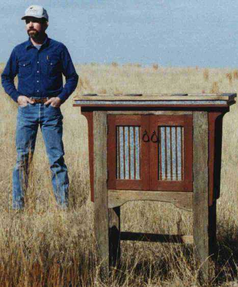 Barn Loft Cabinet by Doug Rickett