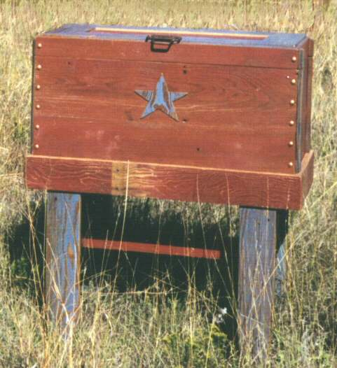 Lone Star Blanket Chest