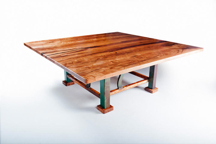 Four Square Dining Table