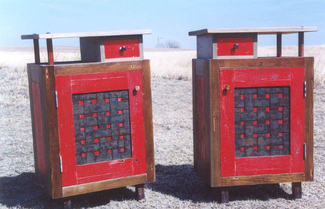 Wild Man End Tables