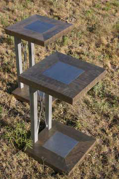 Winter Sky End Tables