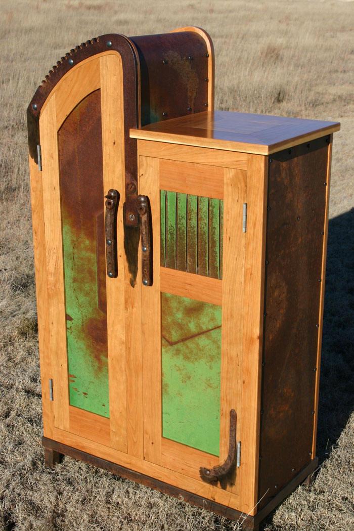 High Jack Wine Cabinet