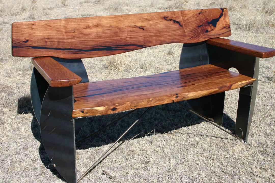 New Moon Bench
