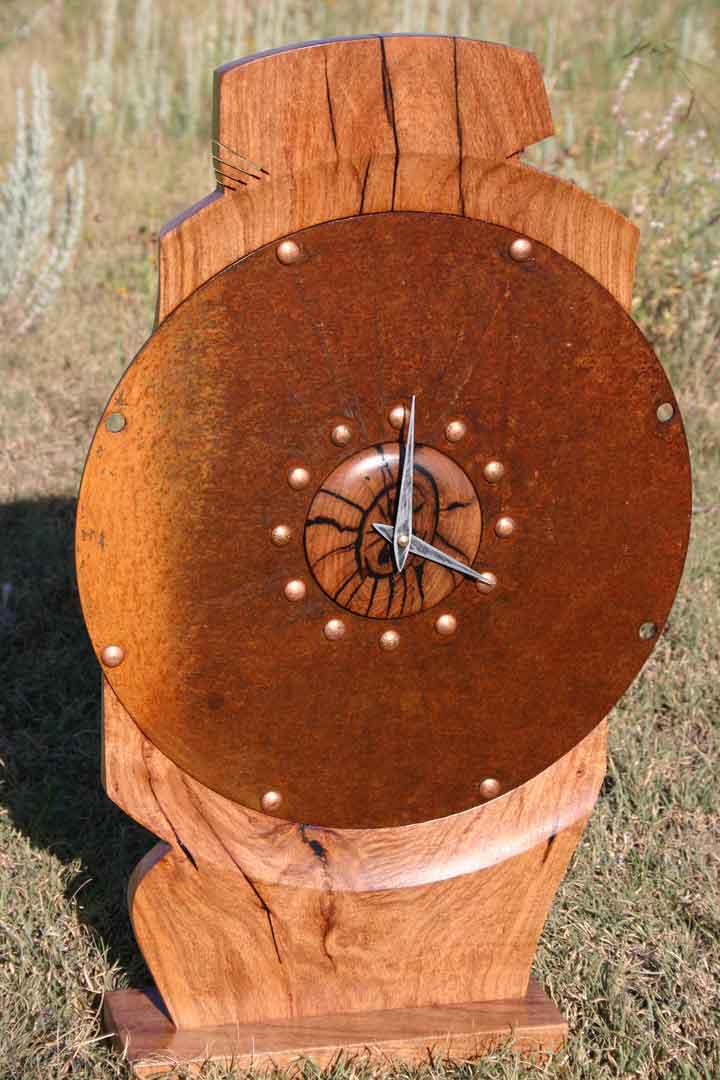 In a Clutch Mantel Clock