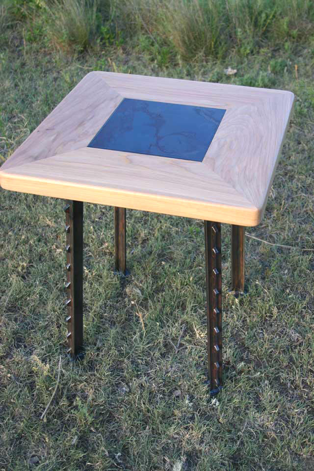 Tee-Square End Table