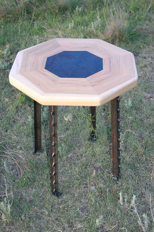 Octa-Tee End Table