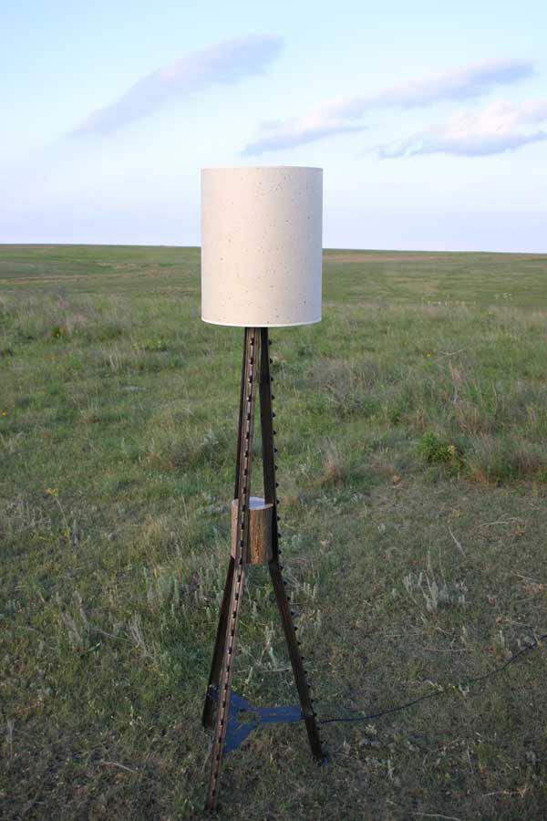 Corner Post Lamp