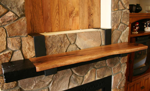 Silverthorne Fireplace Mantel