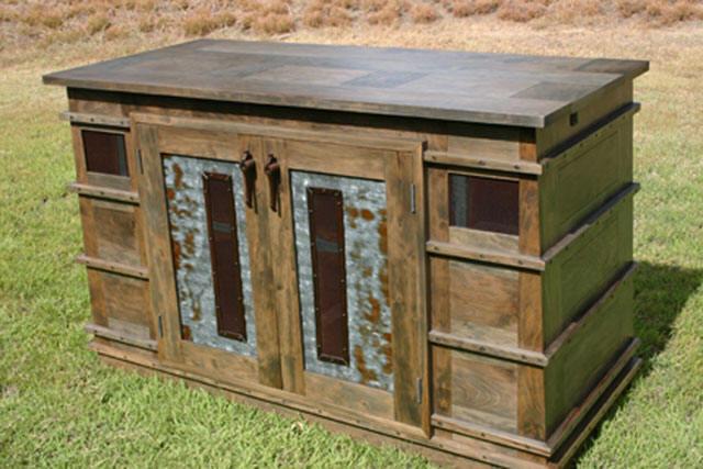 Turnbuckle Cyclone TV Cabinet