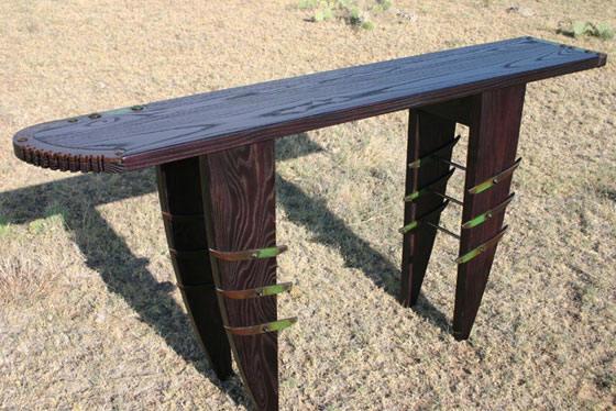 Gal Leg Table
