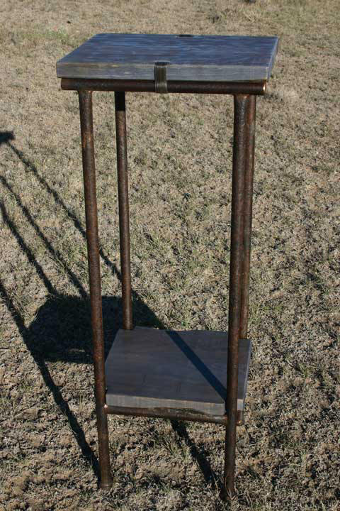 Norther's Coming Sculpture Stand