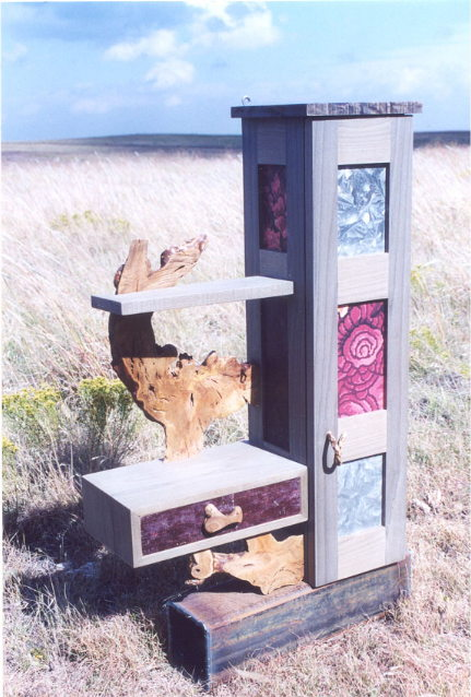Last Rose Jewelry Cabinet
