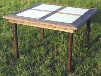 Quilt Block Dining Table