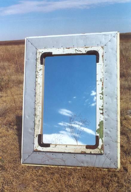 Sky Ice Mirror