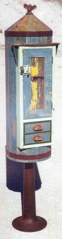 Wing Nut Tower Cabinet