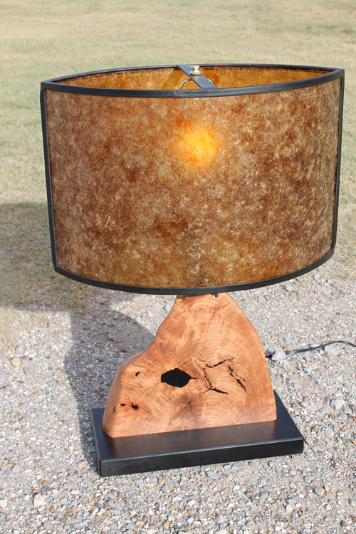 Cat's Eye Table Lamp-Amber