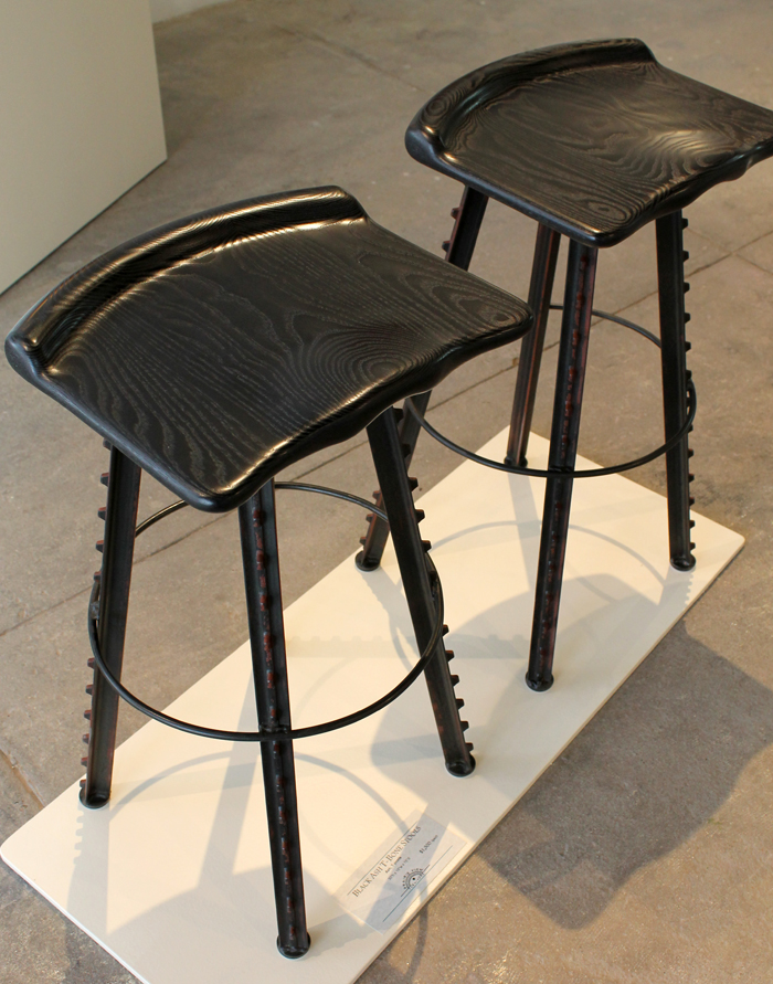 Black Ash T-Bone Stools