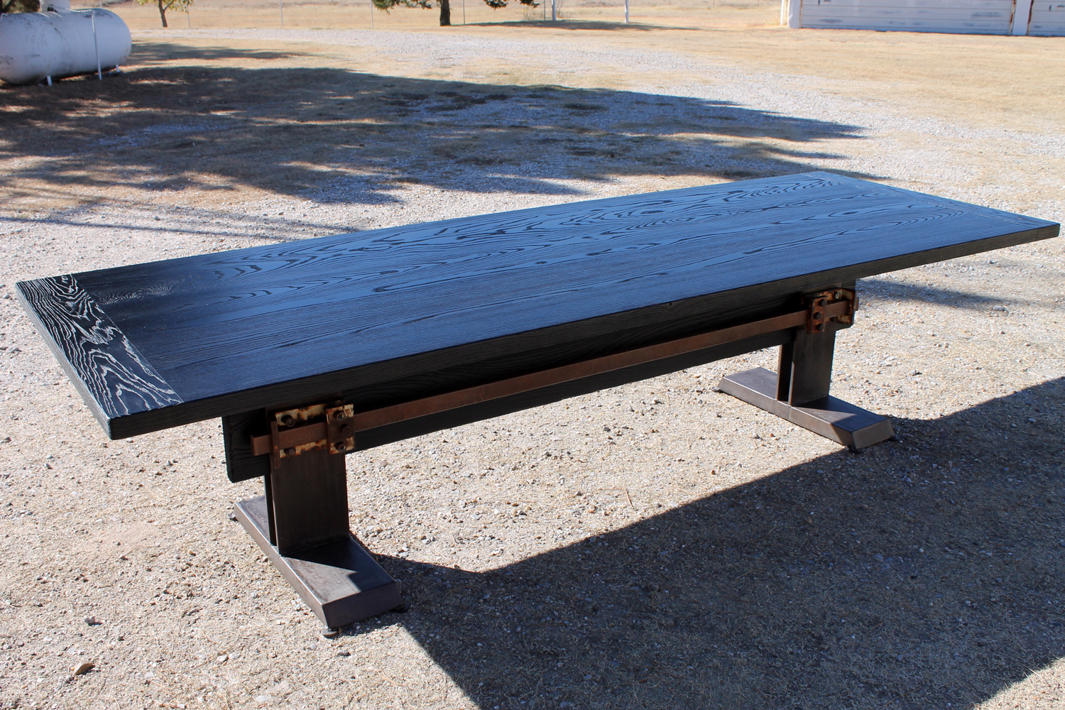 Bar Buckle Dining Table