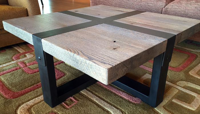 Cross Buckle Coffee Table