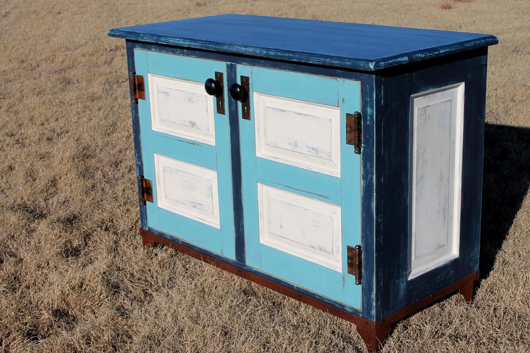 Blue Door Dresser