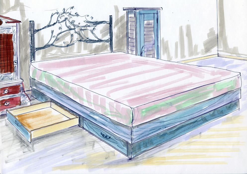 Highlands Bed (plan)